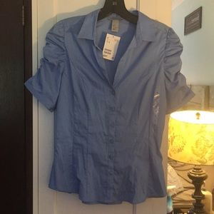 BNWT H&M button down shirt